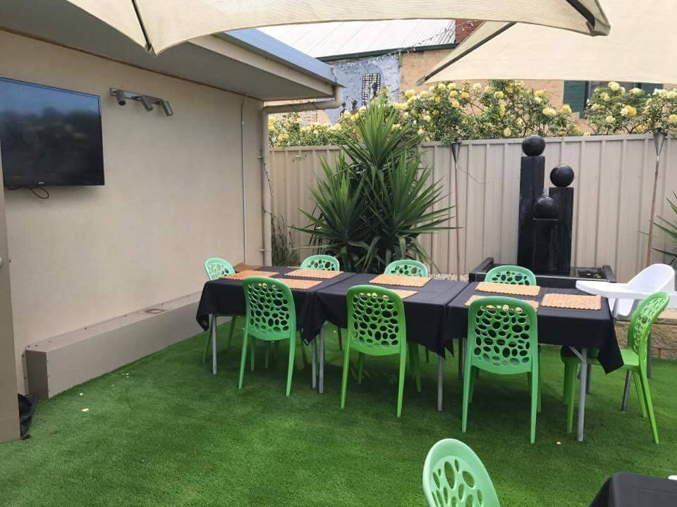 Next Generation Turf at Empire Cafe in Two Wells South Australia